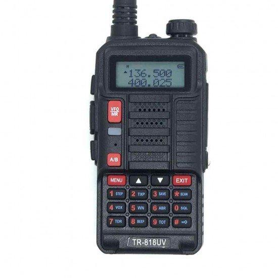 Baofeng TR-818UV Φορητός dual band πομποδέκτης VHF/UHF 10W