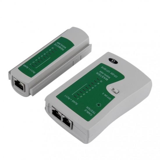 RJ45 Ethernet Network Cable Tester Crimper Stripper Cutter Tool Kit Set  CHL-468