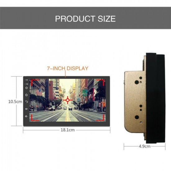 CAR MULTIMEDIA ANDROID 8.0 1G 16G