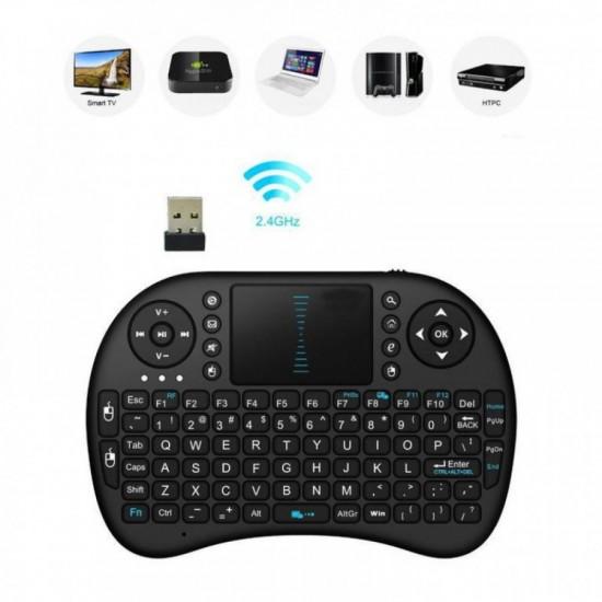 Mini Ασύρματο Πληκτρολόγιο - Mini Keyboard RGB
