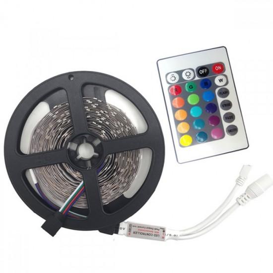 ΤΑΙΝΙΑ  LED RGB STRIP 5M 5050LED