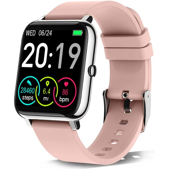P8 Smart Watch with Heart Rate Monitor, Activity Tracker