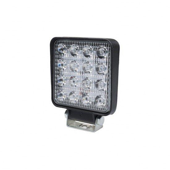 LED τετράγωνος προβολέας SMD 48W