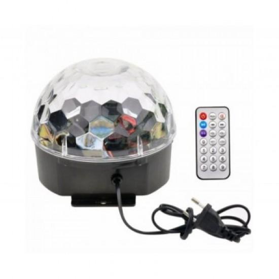 ΦΩΤΟΡΥΘΜΙΚΟ LED CRYSTAL MAGIC BALL LIGHT
