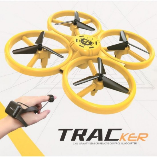 Quadcopter Drone με Χειρισμό Χεριού και Φωτάκια LED XX-18