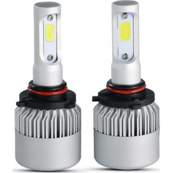 ΛΑΜΠΕΣ LED AUTO MOTO ROLINGER Τ6 9005 48W/4800LM/6000K LED HEADLIGHT