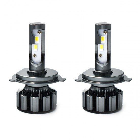 LED 60W philips Λευκό  6000 Lumens Can Bus Η4