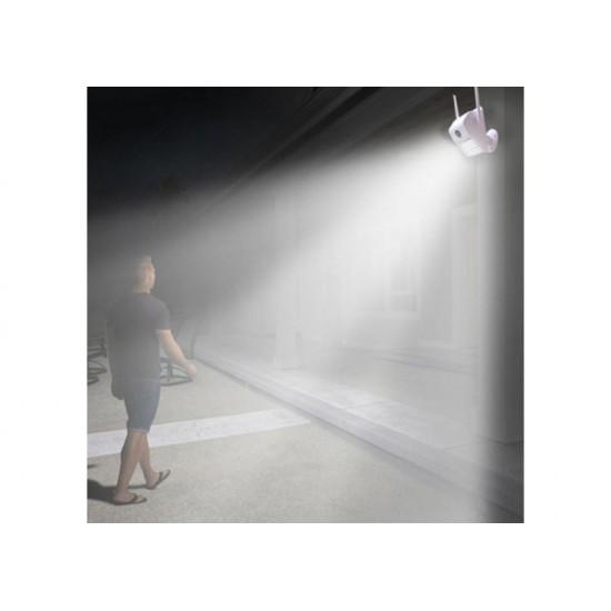 Εξωτερική Ασύρματη Λάμπα Κάμερα Τοίχου Wall Lamp Camera V380 - Αδιάβροχη