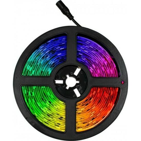 Σετ Ταινία LED Digital Magic Strip 60W με Ενσωματωμένα Προγράμματα Λειτουργίας και Τροφοδοτικό RGB