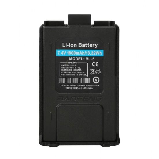 Baofeng Li-ion μπαταρία 1800mAh 7.4V για Baofeng UV-5R BL-5