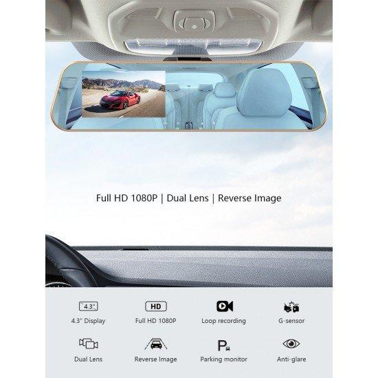 ΚΑΘΡΕΥΠΤΗΣ ΑΥΤΟΚΙΝΗΤΟΥ - 4.3' TFT/LCD DVR MIRROR MONITOR