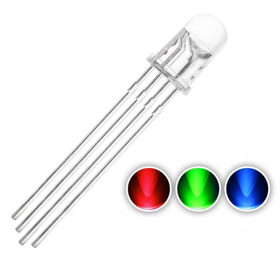 LED – RGB Clear Common Cathode