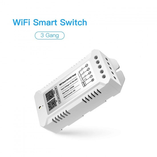 WiFi Smart switch (3Gang)