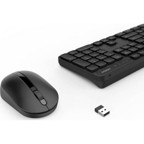 Ασύρματο Πληκτρολόγιο & Ποντίκι Xiaomi MIIIW Combo MWWC01 Μαύρο