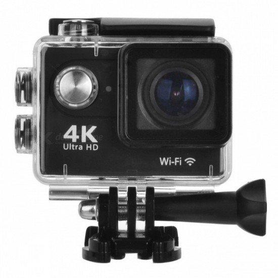 ACTION CAMERA ULTRA HD 4K WIFI WATERPROOF H9 OEM BLACK