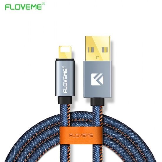 Floveme καλώδιο φόρτισης Denim για Android
